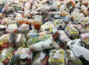 Blumenau arrecada 15 toneladas de donativos