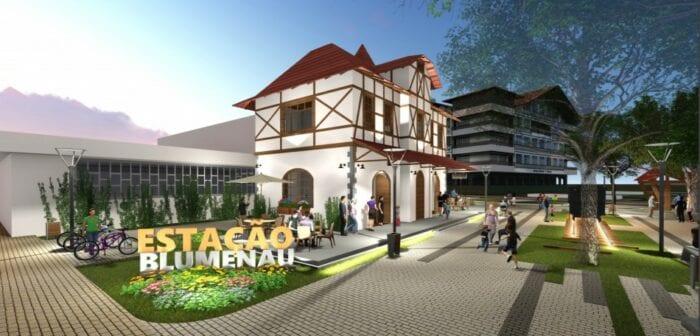 Projeto de renovação da Praça Victor Konder