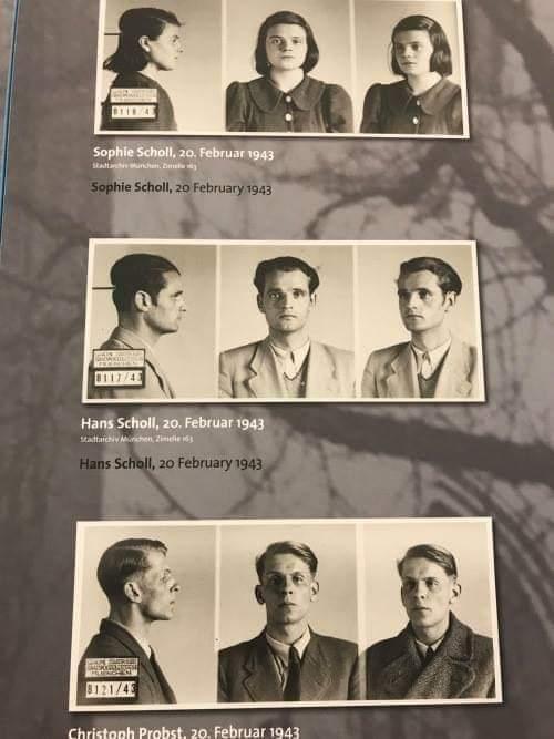 EXEMPLOS DE CORAGEM: Ativistas da resistência contra Hitler, os membros do movimento Rosa Branca foram presos e executados em 20 de fevereiro de 1943. Foto: Bundesarchiv