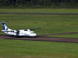 Aeronave da Azul Linhas Aéreas - foto Secom