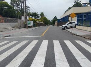 Rua Alfredo Hering recebeu investimento de RR 345 mil