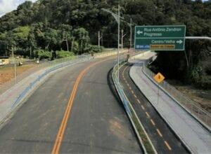 Ponte do Mirelo no Garcia - foto de Eraldo Schnaider