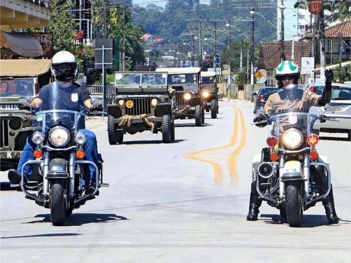 COLUNA DA VITÓRIA - Veículos desfilarão no dia 08 de maio pelas ruas de Blumenau, Pomerode, Rio dos Cedros, Benedito Novo, Timbó e Indaial