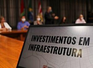 Solenidade para anúncio dos investimentos - foto de Marcelo Martins