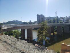 Ponte Adolfo Konder - foto da Secretaria de Obras