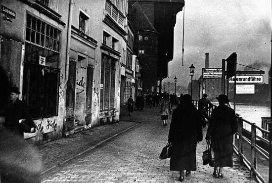 Pichações antissemitas em Dantzig em 1935