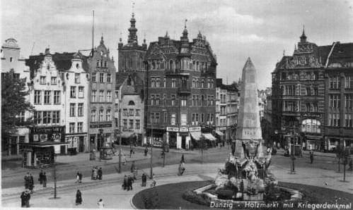 Cidade Polonesa de Dantzig em 1939