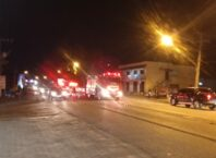 Acidente causa morte de motociclista na Itoupava Central - foto do Corpo de Bombeiros