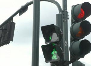 Semáforo de sinalização em Blumenau - foto da Prefeitura