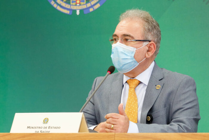 Ministro da Saúde Marcelo Queiroga - foto de Clauber Cleber Caetano/PR