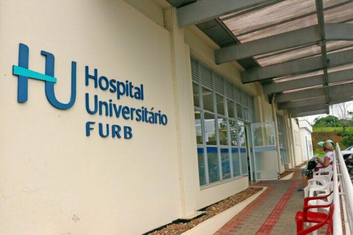 Hospital Universitário da Furb - foto de Eraldo Schnaider